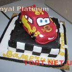 Торт Мультяшное авто_10