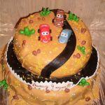 Торт Мультяшное авто_12