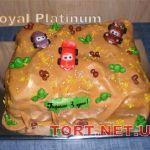 Торт Мультяшное авто_13