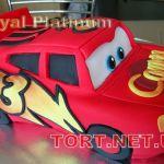 Торт Мультяшное авто_18