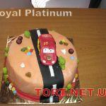 Торт Мультяшное авто_23
