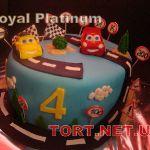 Торт Мультяшное авто_4
