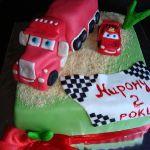 Торт Мультяшное авто_5