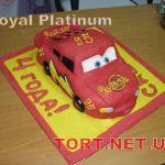 Торт Мультяшное авто_7