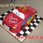 Торт Мультяшное авто_8