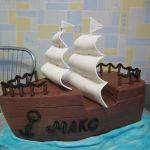 Торт Корабль_21