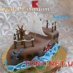 Торт Корабль_22