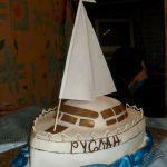 Торт Корабль_3