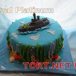 Торт Корабль_4