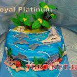 Торт Корабль_8