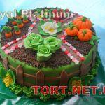 Торт Огород_2