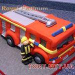 Торт Пожарник_4