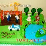 Торт Рыбалка_4