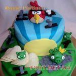 Торт Angry Birds (Злые птички)_14