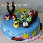 Торт Angry Birds (Злые птички)_17