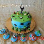 Торт Angry Birds (Злые птички)_1