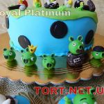 Торт Angry Birds (Злые птички)_5