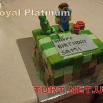 Торт Minecraft (Майнкрафт)_11
