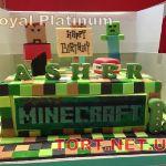 Торт Minecraft (Майнкрафт)_16