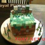 Торт Minecraft (Майнкрафт)_18