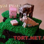 Торт Minecraft (Майнкрафт)_19