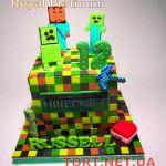 Торт Minecraft (Майнкрафт)_1