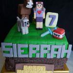 Торт Minecraft (Майнкрафт)_20