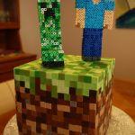 Торт Minecraft (Майнкрафт)_24