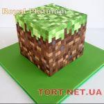 Торт Minecraft (Майнкрафт)_2