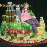 Торт Minecraft (Майнкрафт)_3