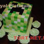 Торт Minecraft (Майнкрафт)_5