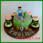 Торт Minecraft (Майнкрафт)_6