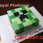 Торт Minecraft (Майнкрафт)_7
