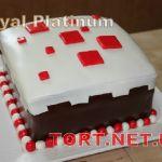 Торт Minecraft (Майнкрафт)_8