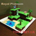 Торт Minecraft (Майнкрафт)_9