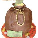 Торт Мешок с деньгами_10