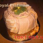 Торт Мешок с деньгами_11