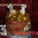Торт Мешок с деньгами_14