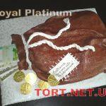 Торт Мешок с деньгами_8