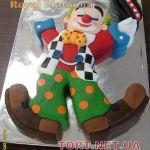 Торт Клоун (Цирк)_15