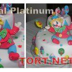 Торт Клоун (Цирк)_4