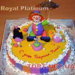 Торт Клоун (Цирк)_7
