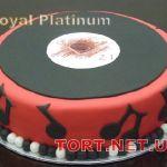 Торт Музыкальный Диск_2