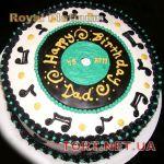 Торт Музыкальный Диск_4