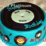 Торт Музыкальный Диск_5