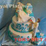 Торт в виде коробки_17