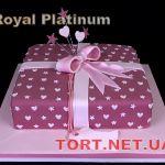 Торт в виде коробки_1