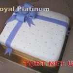Торт в виде коробки_21
