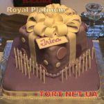 Торт в виде коробки_5