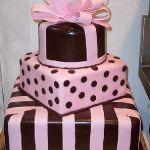 Торт в виде коробки_6